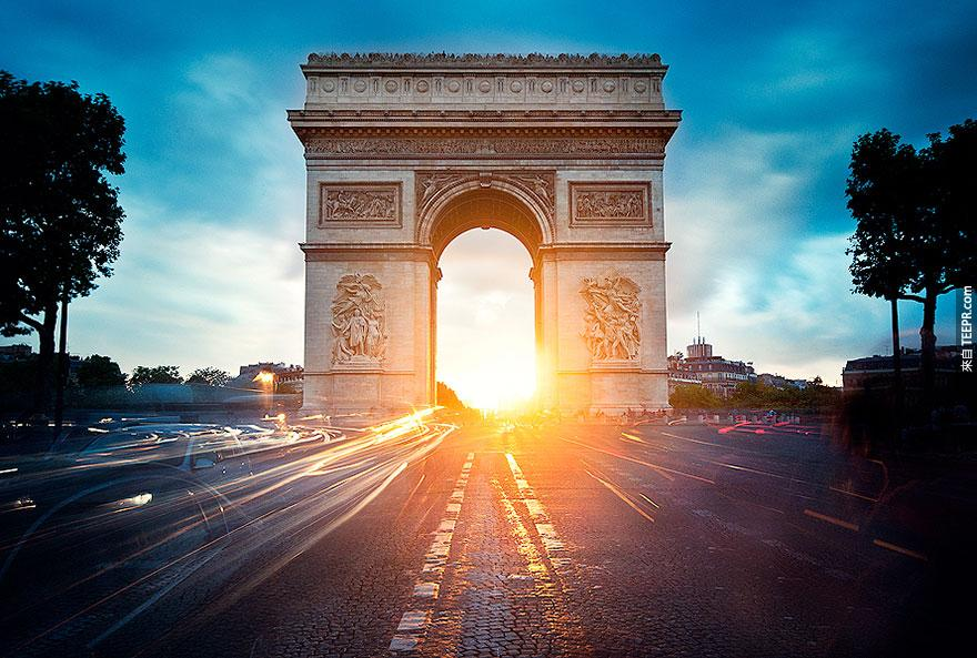 14. 凱旋門 (The Arc de Triomphe)