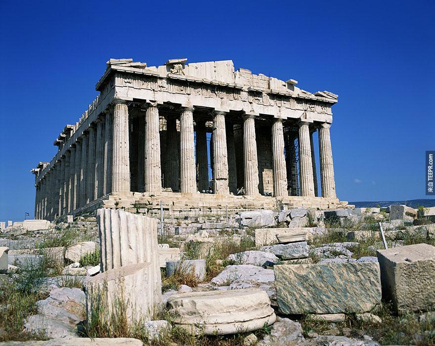 7. 雅典衛城 (The Acropolis)