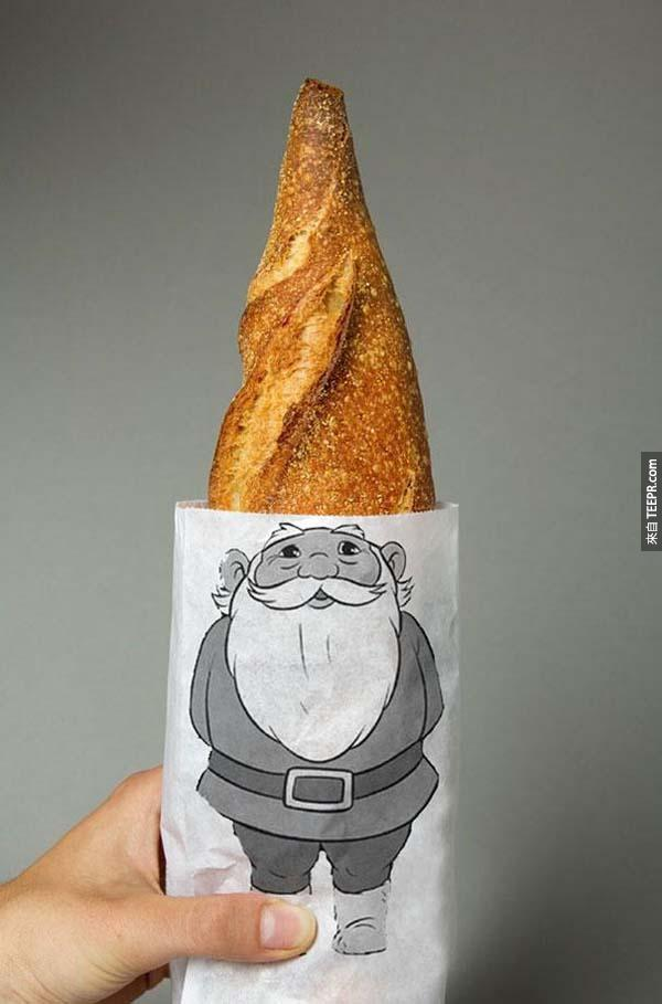 1.) Gnome bread