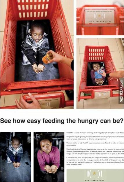 Feed SA (致力於解決非洲貧困人員. 飢餓問題) : 手推車