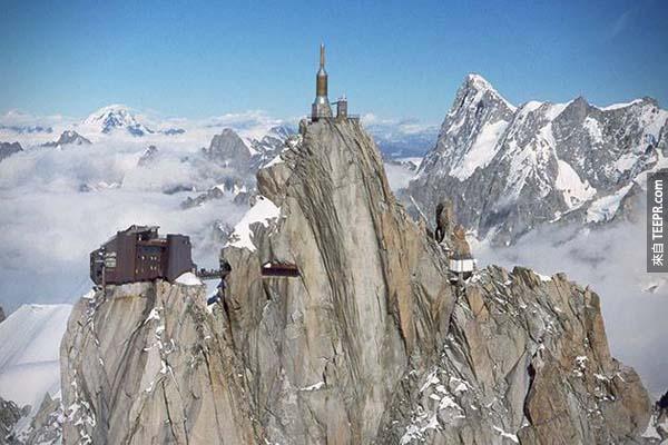 這個觀景台在南針鋒的最高點。
