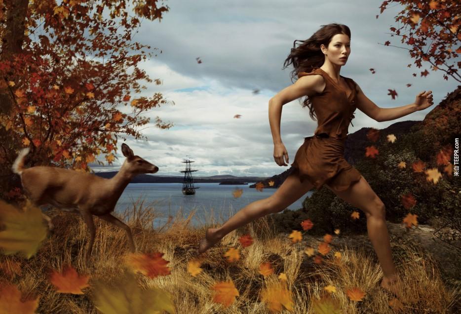 傑西卡·貝爾 (Jessica Biel) 《風中奇緣》