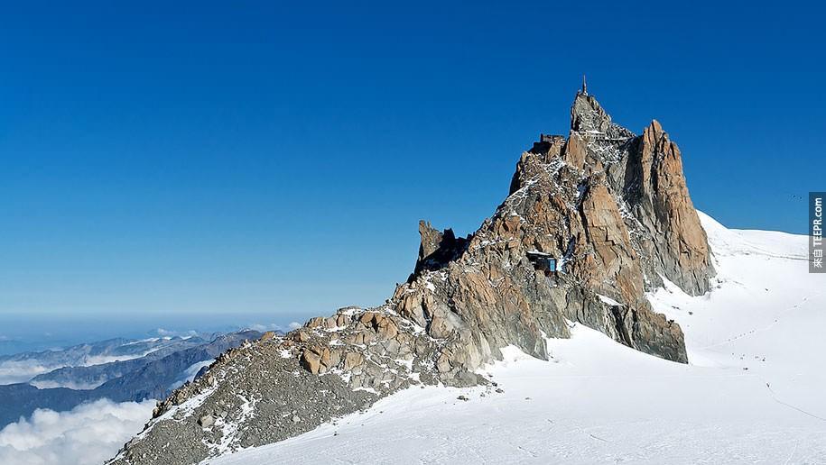 勃朗峰,法國阿爾卑斯山
