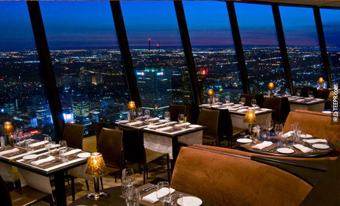 360: The Restaurant at the CN Tower - Ontario, Canada