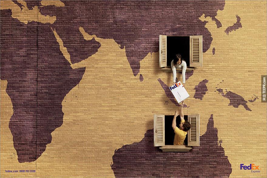 17. 聯邦快遞 (Federal Express) - '中國到澳洲'