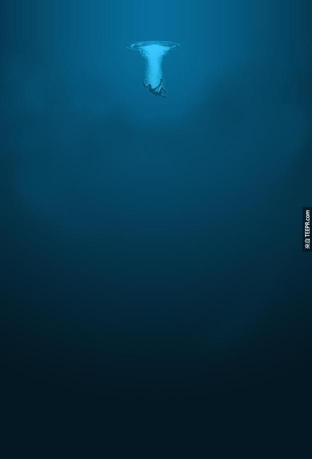 這些海底的知識可能會讓你再也不敢在海裡游泳了...