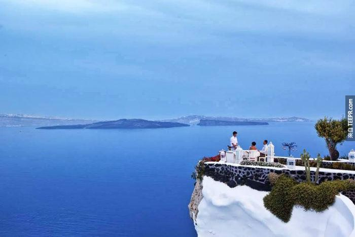 Adronis Restaurant - Santorini, Greece