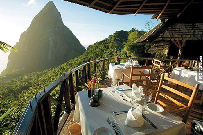 35個全世界最迷人的景觀餐廳。#23超誇張的!