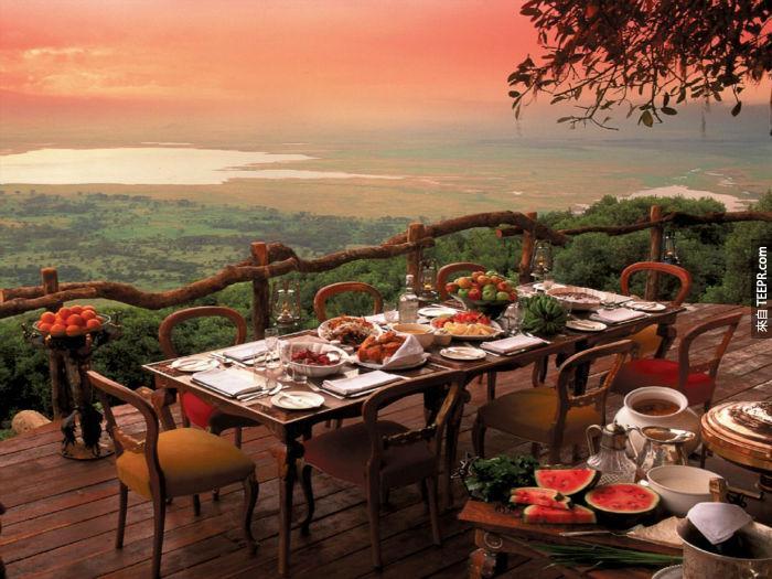 Crater Lodge at Ngorongoro Conservation Area, Tanzania