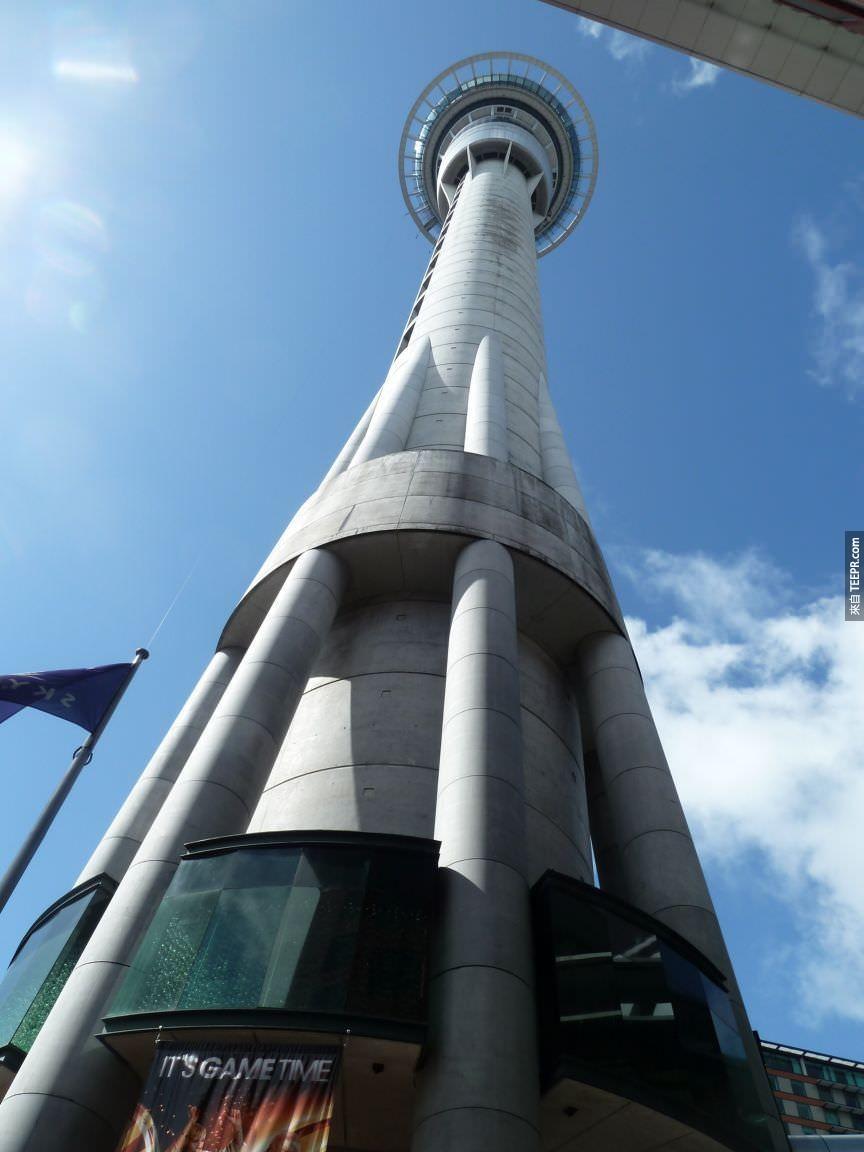 天空塔 (奧克蘭,紐西蘭)