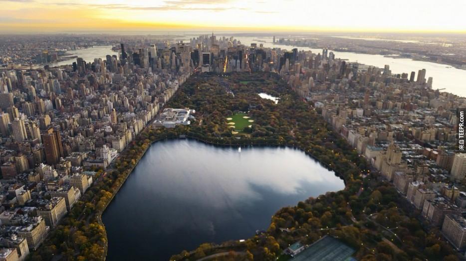 我一直都知道紐約很美,但是我從來沒有看過這樣的紐約市。