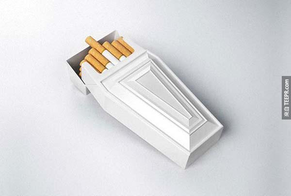 18.) 棺材香烟盒