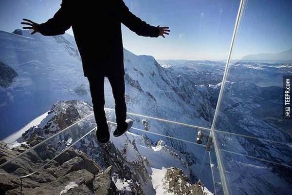 你直直看到1035米的下方。