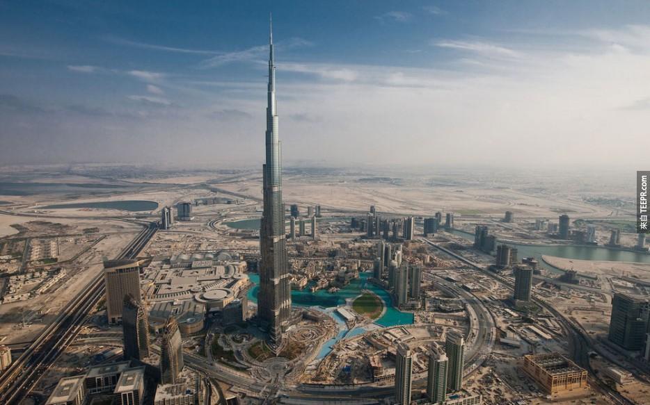 世界上最高的建築,迪拜塔 (迪拜)