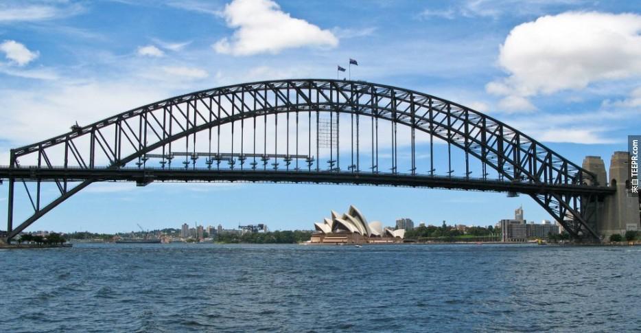 攀登海港大橋 (雪梨,澳大利亞)