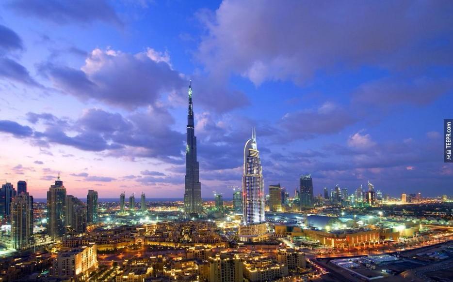 #17  - 迪拜,阿拉伯聯合酋長國