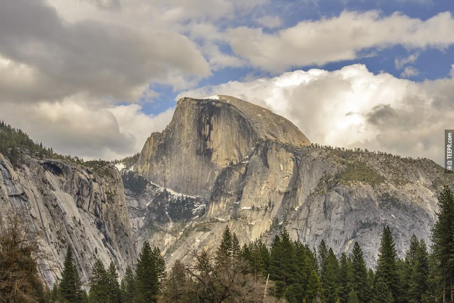 半圓頂山,優勝美地國家公園 (美國)