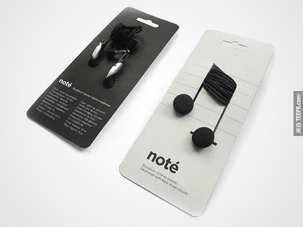 2. 音符 Note 耳機