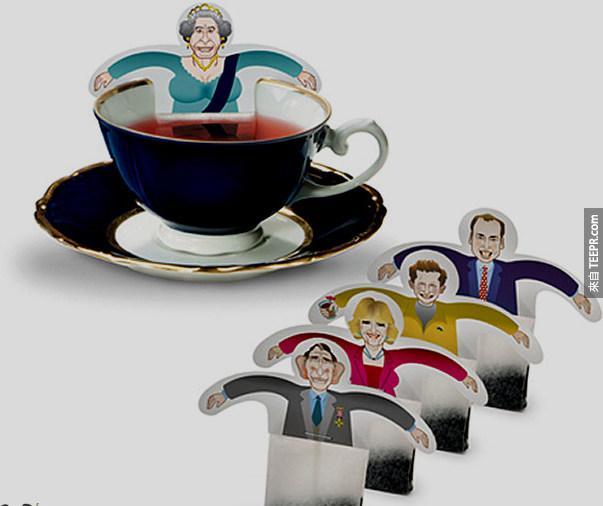 5. 皇家茶包 (還真的是皇家呢~)