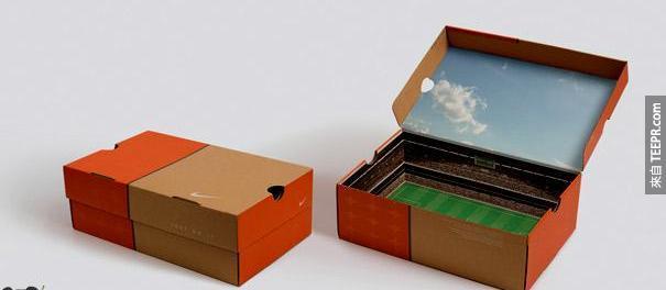 9. Nike 球場鞋盒
