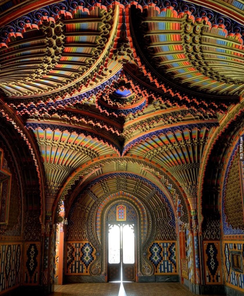 Castello di Sammezzano裡的孔雀房,托斯卡納