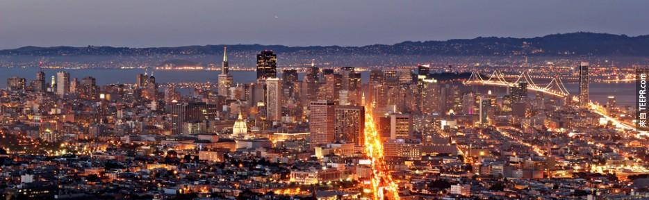 #25  - 舊金山,美國