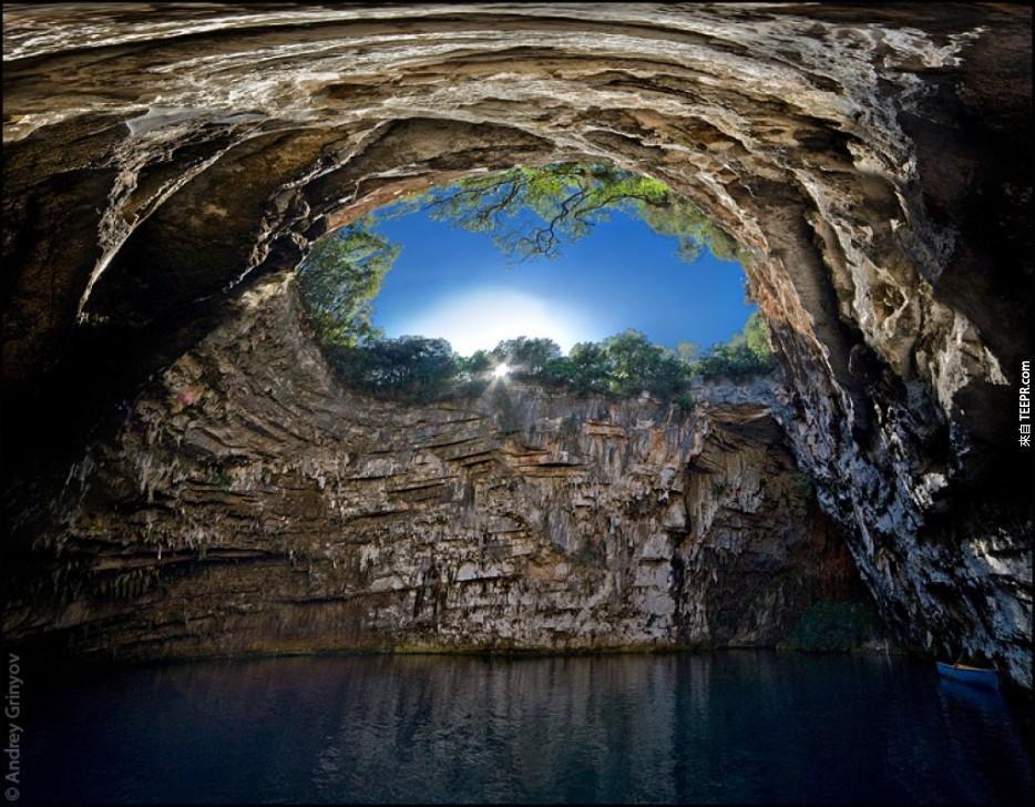 梅利薩尼洞,凱法利尼亞,希臘