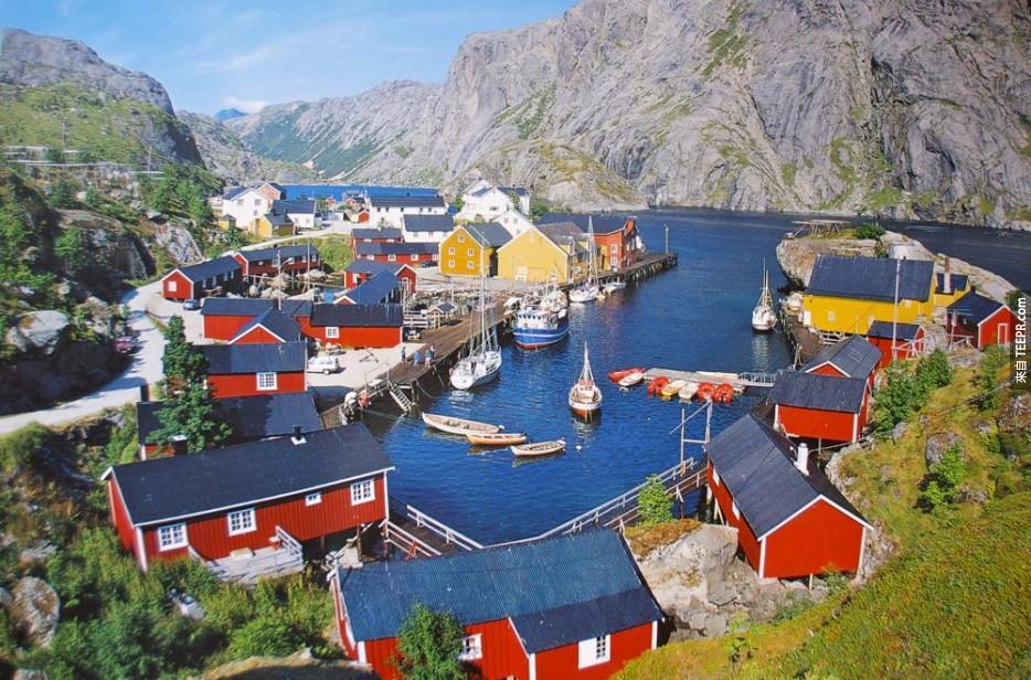 羅弗敦群島,挪威