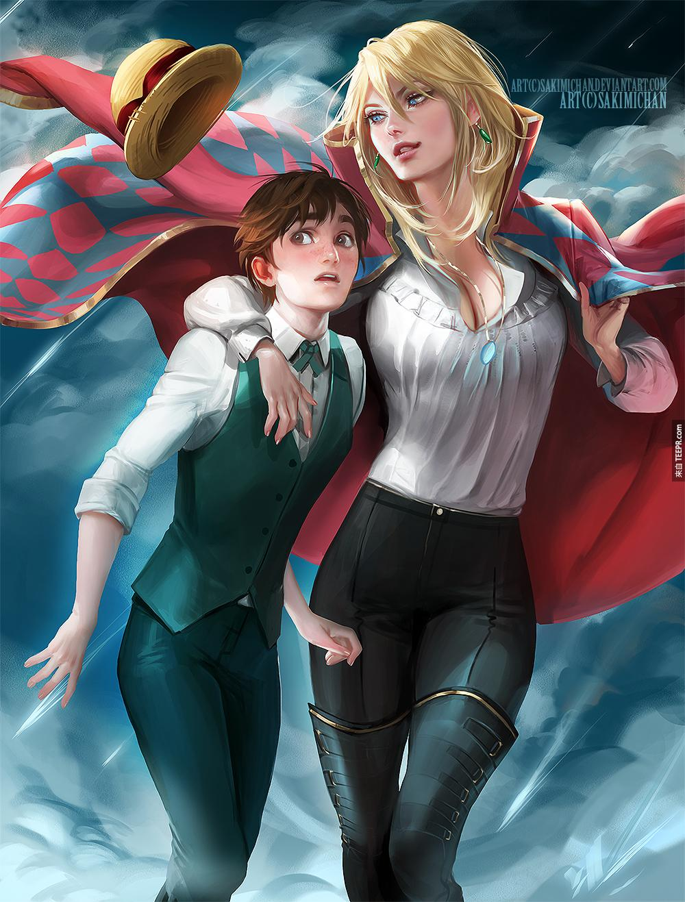 這些我們最愛的卡通人物都被換了性別,結果一點都不怪,反而超酷的!