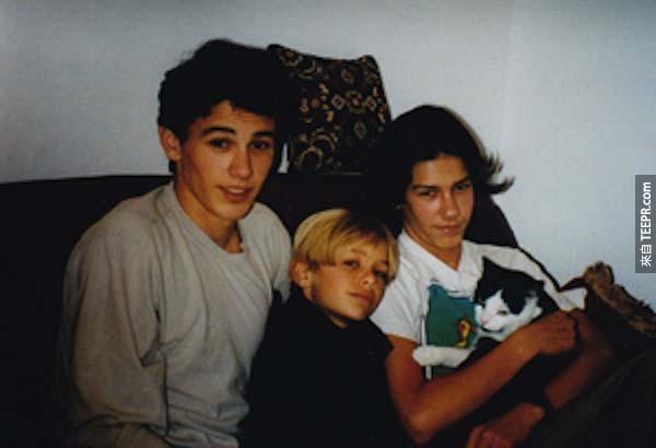 12.) 詹姆斯·弗蘭科 (James Franco) – 還有他的兄弟