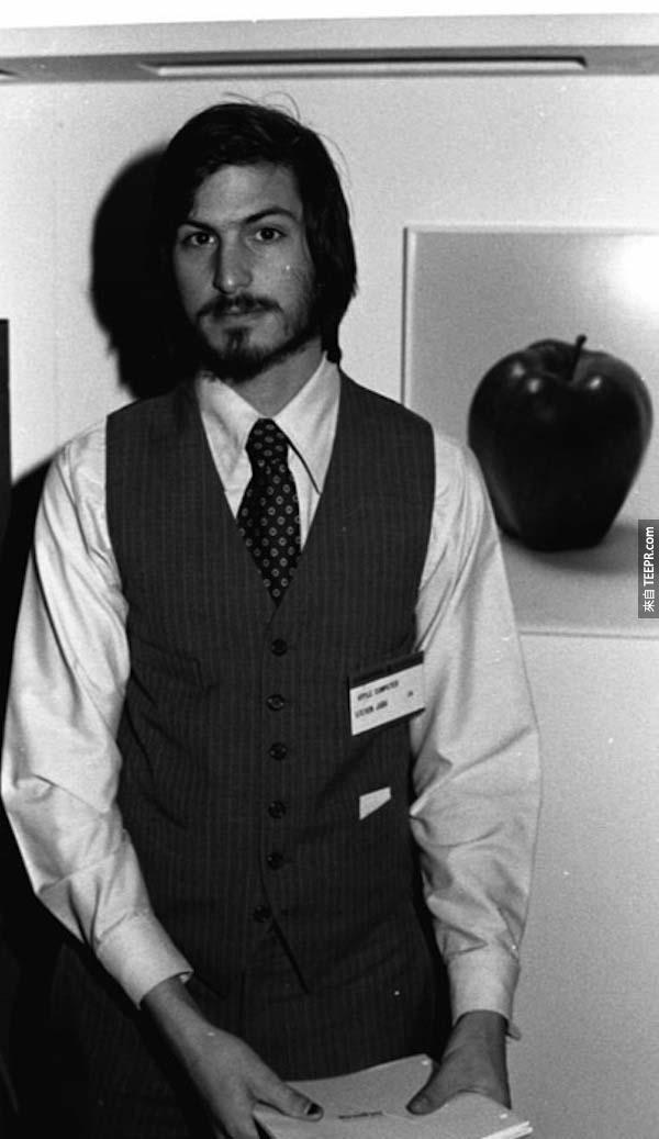 16.) 史蒂夫·賈伯斯 (Steve Jobs) – 當時都已經在改變世界了!