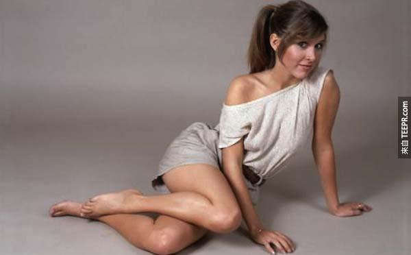 18.) Carrie Fisher - help us Carrie Fisher, you're a nerd's only hope