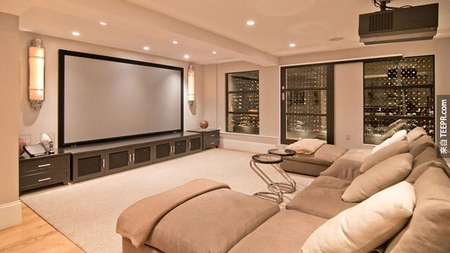 愛看電影的人,這個就是你的房間!