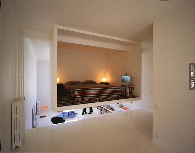 騰空的睡房嗎?我要。