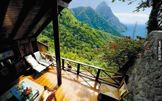 如果可以在這裡 (哥倫比亞) 喝個下午茶,為何要在你現在那裡喝。