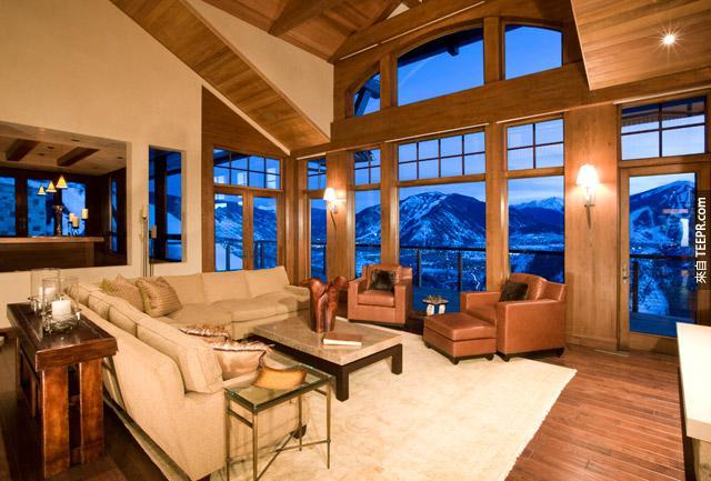 終極的木屋。