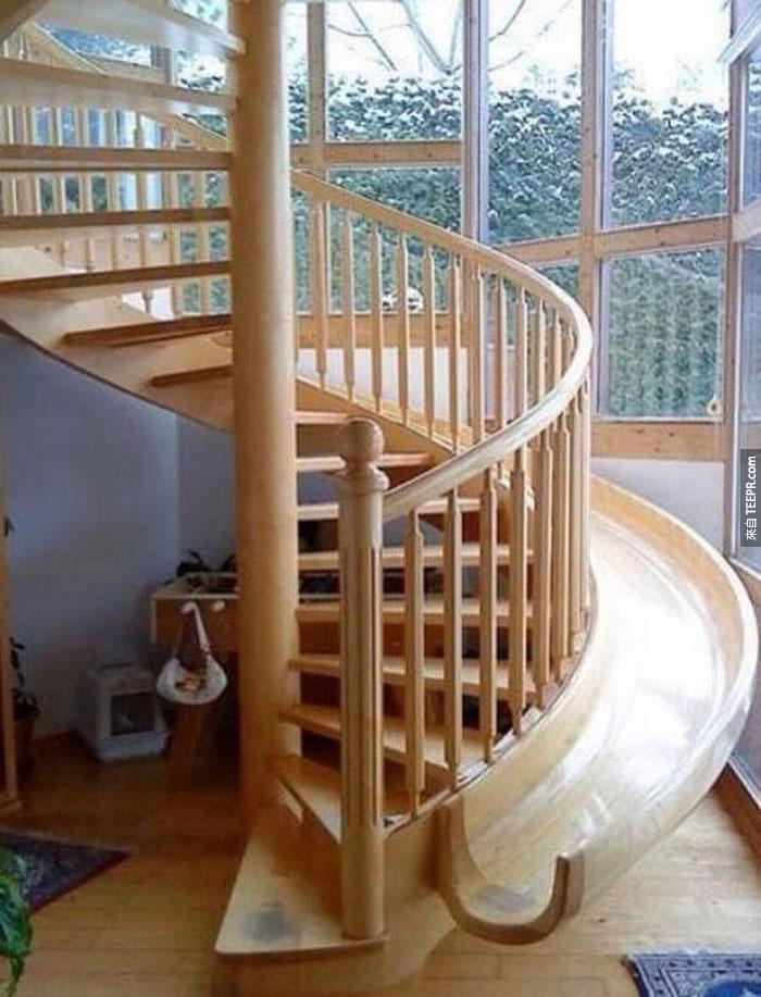 22) 這是下樓最好的方法!