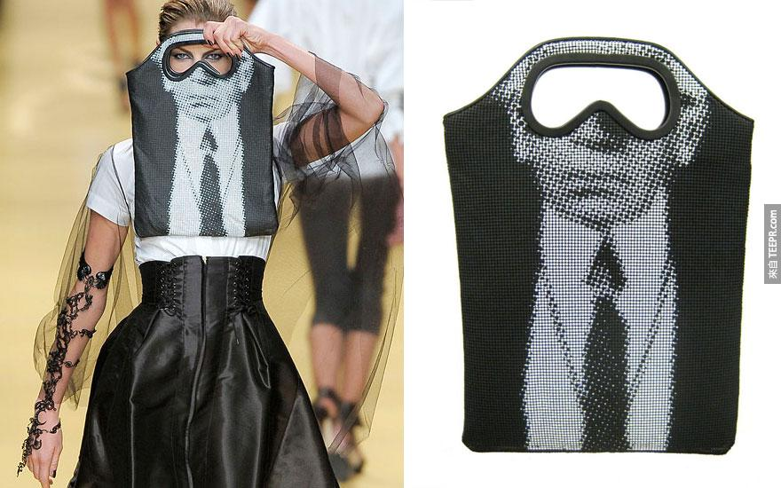 29. 卡爾·拉格菲爾德 (Karl Lagerfeld): 護目鏡袋