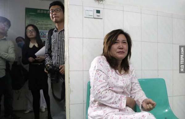 他在4月2日的時候走了,然後他的腎臟給了他的媽媽。