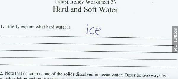 25位小朋友在考試上寫出超天才的答案。這些答案真的天才到我笑翻了!