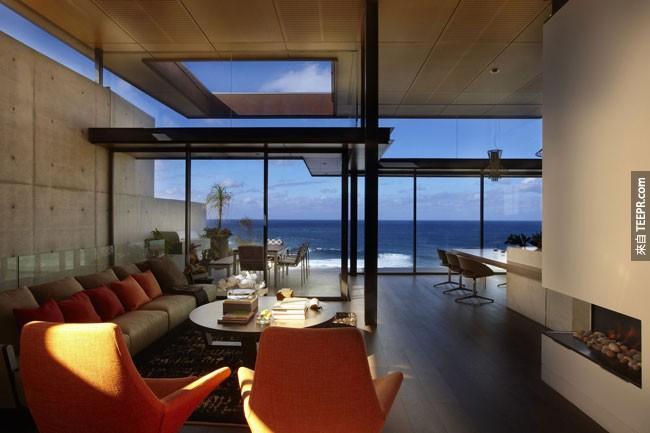 31. 澳大利亚悉尼不可思议的海滩屋。
