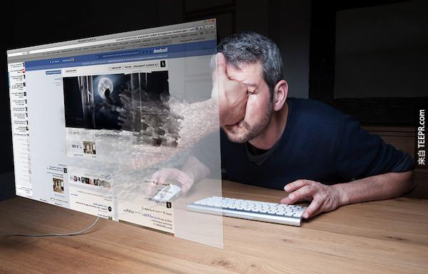 每分鐘,FB用戶分享2,460,000篇文章。