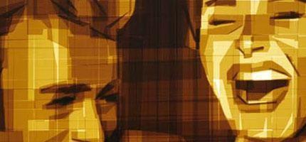 mark-khaisman用包裝膠帶做出精采的圖畫