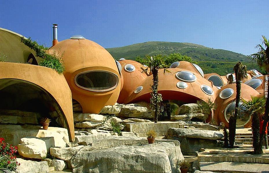 4)氣泡的房子 - 法國南部