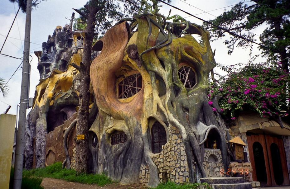 6)大叻的瘋狂屋 - 越南