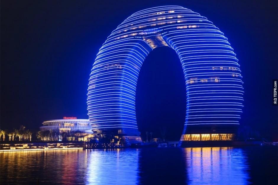 8)甜甜圈酒店 - 廣州,中國