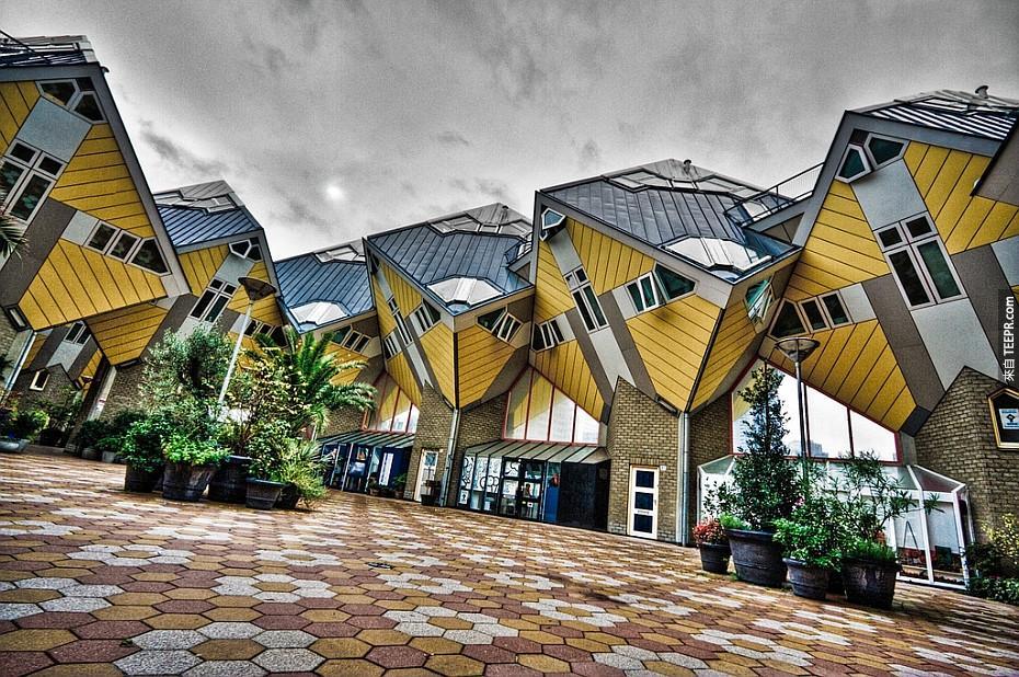9)荷蘭立方體的房子 - 荷蘭鹿特丹