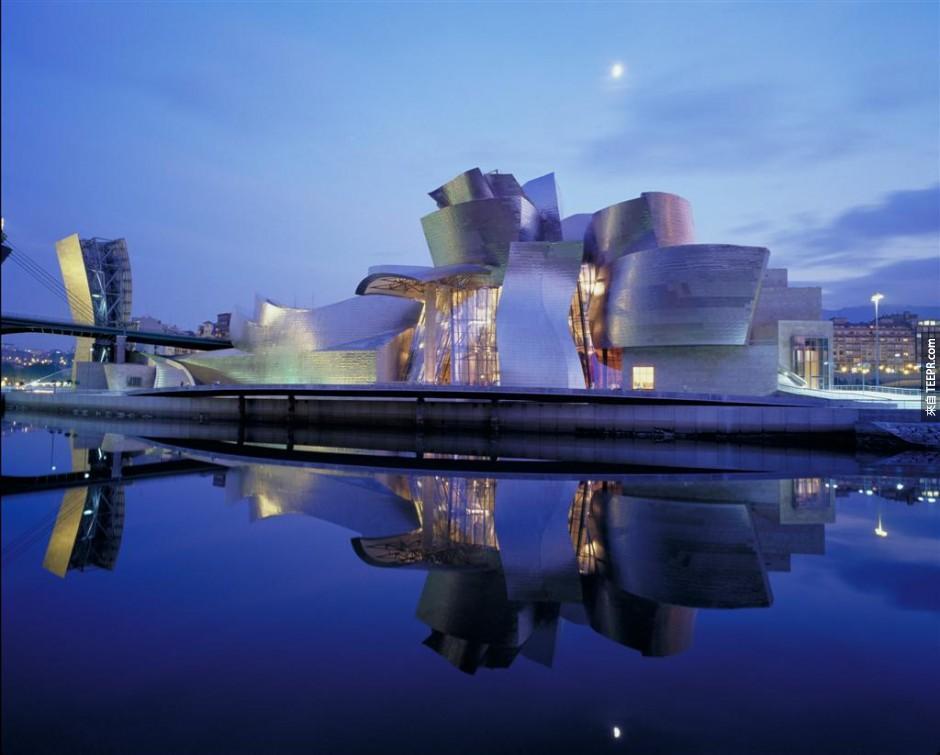 13)古根海姆博物館 - 西班牙畢爾巴鄂