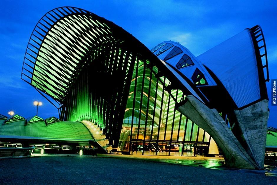 17)里昂機場火車站 - 法國