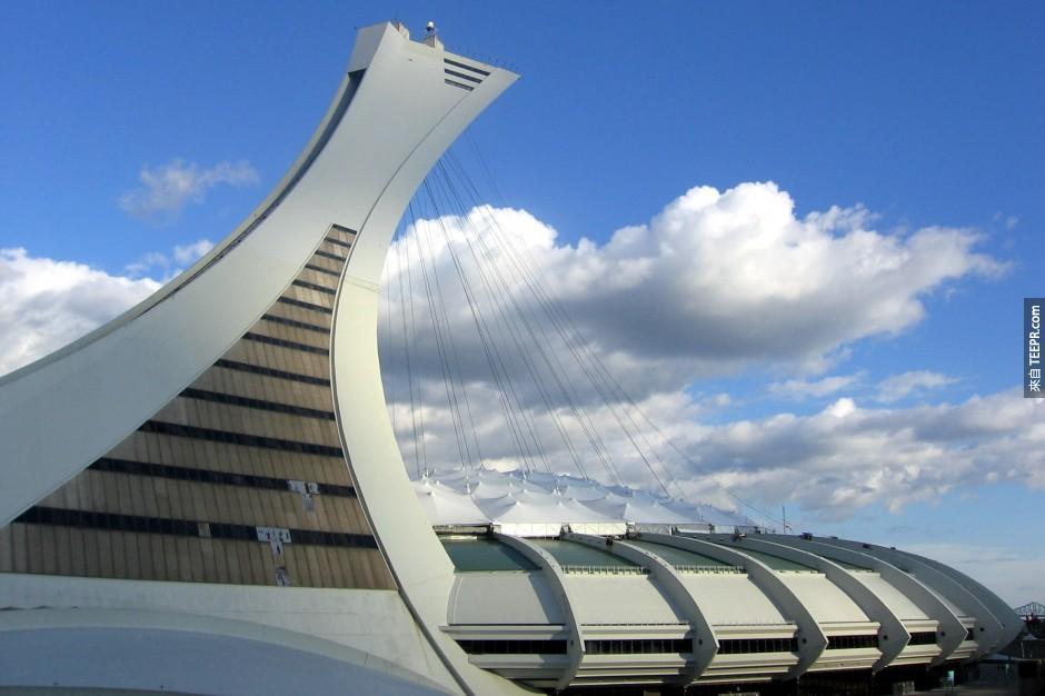 23)奧林匹克體育場 - 蒙特利爾,加拿大